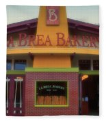 La Brea Bakery Downtown Disneyland Fleece Blanket