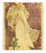 La Dame Fleece Blanket