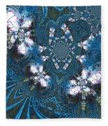 La Danse Des Papillons Fleece Blanket