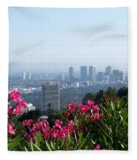 L.a. From Beverly Hills Fleece Blanket