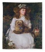 La Jeunesse, 1884 Fleece Blanket