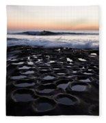 La Jolla Surf Session Fleece Blanket