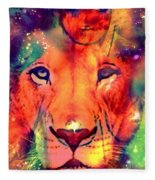 La Lionne Fleece Blanket