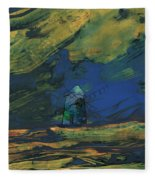 La Mancha De Noche Fleece Blanket
