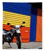 La Motocicleta Fleece Blanket