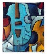 La Musique 2 Fleece Blanket