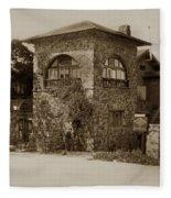 La Playa Carmel And Located At Camino Real At Eighth Ave. Circa  1925 Fleece Blanket