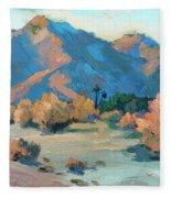 La Quinta Cove - Highway 52 Fleece Blanket