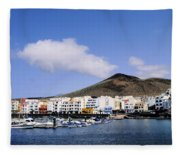 La Restinga Fleece Blanket