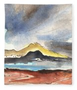 La Santa In Lanzarote 01 Fleece Blanket