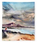 La Santa In Lanzarote 02 Fleece Blanket