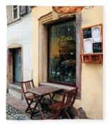 La Tinta Cafe Fleece Blanket