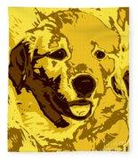 Labrador Fleece Blanket