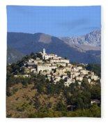 Labro, Lazio, Italy Fleece Blanket