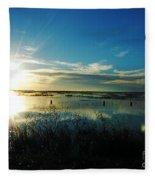 Lacassine Afternoon Sparkle Fleece Blanket