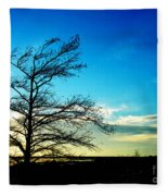 Lacassine Tree Fleece Blanket