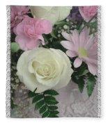 Lace Framed Mothers Day Fleece Blanket