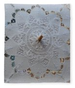 Lace Umbrella Fleece Blanket