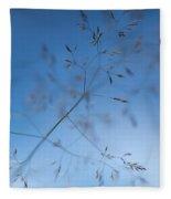 Lacy Patterns Of Grass Fleece Blanket