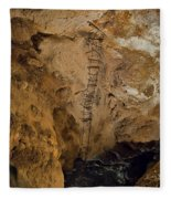 Ladder To The Center Of The Earth Fleece Blanket