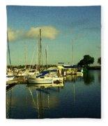 Ladds Marina Fleece Blanket