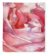 Ladies Only - Abstract Bathing  Fleece Blanket