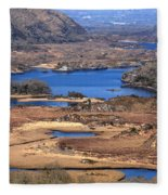 Ladies View Killarney National Park Fleece Blanket