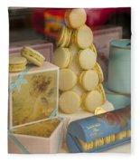 Laduree Macarons Fleece Blanket