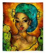 Lady Creole Fleece Blanket