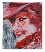 Lady Di Fleece Blanket