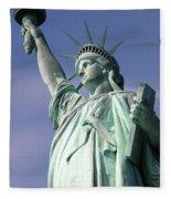 Lady Liberty 01 Fleece Blanket