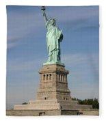 Lady Liberty 04 Fleece Blanket