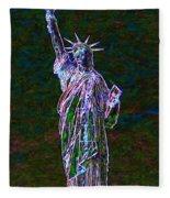 Lady Liberty 20130115 Fleece Blanket