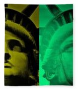 Lady Liberty For All Fleece Blanket