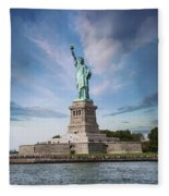 Lady Liberty Fleece Blanket