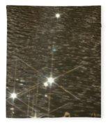 Lady Of The Lake Fleece Blanket