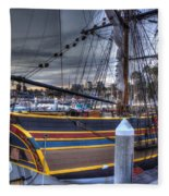 Lady Washington Fleece Blanket