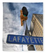 Lafayette Square Buffalo Ny V1 Fleece Blanket