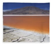 Laguna Colorada, Altiplano Bolivia Fleece Blanket