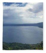 Laguna De Apoyo Nicaragua 2 Fleece Blanket