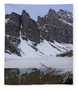 Lake Agnes #2 Fleece Blanket