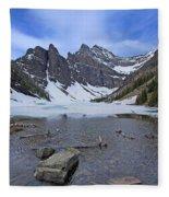 Lake Agnes Fleece Blanket