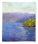 Lake Arrowhead Fleece Blanket