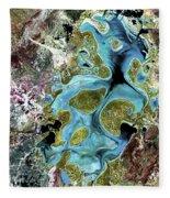 Lake Carnegie Western Australia Fleece Blanket
