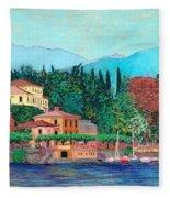 Lake Como Fleece Blanket