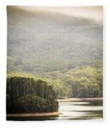 Lake Forest Fleece Blanket