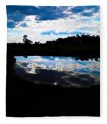 Lake Goad Fleece Blanket