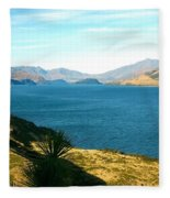 Lake Hawea Fleece Blanket