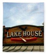 Lake House Fleece Blanket