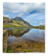 Lake Idwal Fleece Blanket